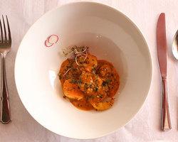 Scampis diavolo (sauce piquante)